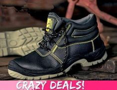 craze deals on our products , get this safety boot today, email @ branding@portesa.co.za for more infor.