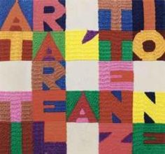 ATTIRARE L'ATTENZIONE (To Draw Attention), by #alighieroboetti just sold for over 21k euros against a pre-sale estimate of €8,000 - €12,000. The arazzo / tapestry, 22.5 x 24 cm, was offered by...