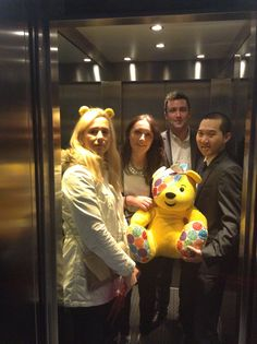 Apartment visit 19: Monarch House in Kensington. #PASPudsey....going up?