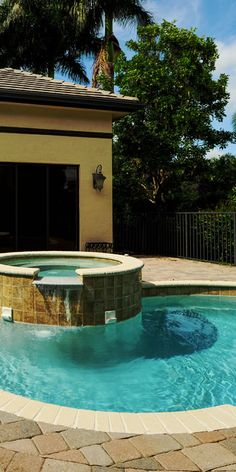Jacuzzi in a home in the waterfront community of Highland Beach. Highland Beach is a waterfront luxury area with great homes and spectacular views. #highlandbeach