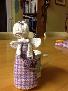 Tweedy cosy angel made for another very special lady x
