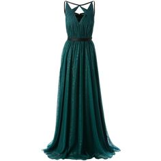 JASON WU silk lame gown found on Polyvore