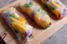 Blog Cuisine & DIY Bordeaux - Bonjour Darling - Anne-Laure: Rouleaux de printemps aux fruits