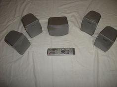 5 casse  Aiwa modello  SX-C90 Dolbi  Surraund  Complete di Telecomando di affaryonline su Etsy