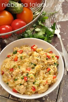 Risotto, Gnocchi Recipes, Health Dinner, Fried Rice, Dinner Recipes, Dinner Ideas, Food Porn, Vegetables, Ethnic Recipes