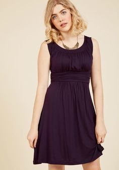 I Love Your Jersey Dress in Plum - this looks like it would be super comfortable and flattering