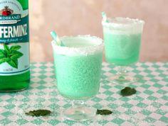 Ein Traum in Pastellgrün – Pfeffi-Kokos-Cocktail