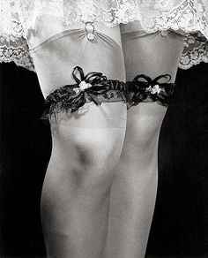 'Woman's Legs With Garters' Phillipe Halsman 1939