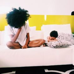 Natural hair - motherly bonds