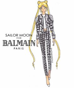 Sailor Moon Balmain