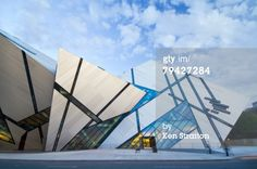 Stock-Fotografie: The Michael Lee Chin Crystal Building Royal Ontario Museum…