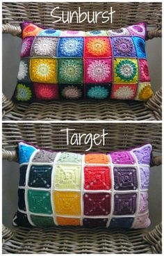 Annie's Place: Reversible Crochet Cushion Version 2