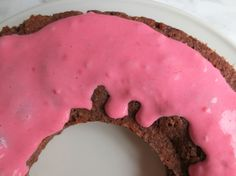 Basically fruitytarian: Vegan chocolate cake with coconut strawberry mousse