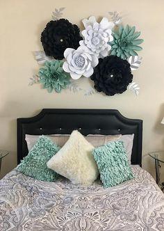 Paper Flower Backdrop Set of 6