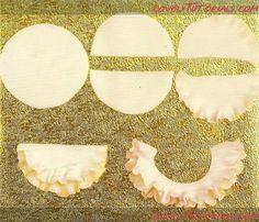 как сделать рюши из мастики-Fondant Ruffles - Мастер-классы по украшению тортов Cake Decorating Tutorials (How To's) Tortas Paso a Paso