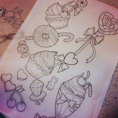 Tattoo design by @carlykroll.
