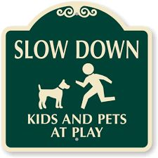 Image result for slow signs for driveways humorous