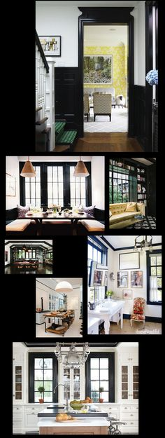 I first recall being struck by the idea of light walls and black interior trim when I set my eyes on a Roman and Williams designed condo building (at 211 Elizabeth Street in NYC) a handful of years…