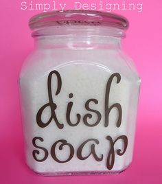 Dishwasher detergent - I have been searching for a recipe like this!  Great solution for my hard water.