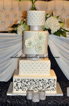 Elaborate Wedding Bling  Cake by CBD