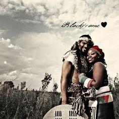 Blackframe: Michel & Jane's Traditional Zulu Wedding