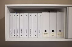 My alternative to the file cabinet.   Jenna Sue Design Blog