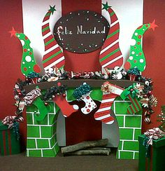 X-MAS DECORATIONS, OWNER MICHELLE DELANCE, DESIGN AND CONSTRUCTION RYC2