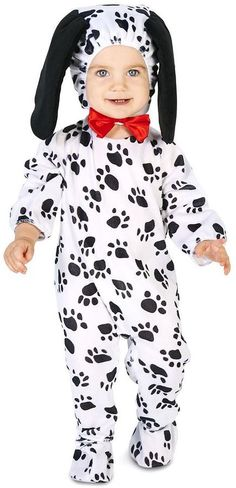 So cute! Toddler Dotty Dalmatian Dog Costume