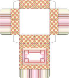 Шаблоны для коробочек из бумаги