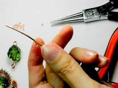 Master - class: Braid beads and beading wire - YouTube   (Russian)