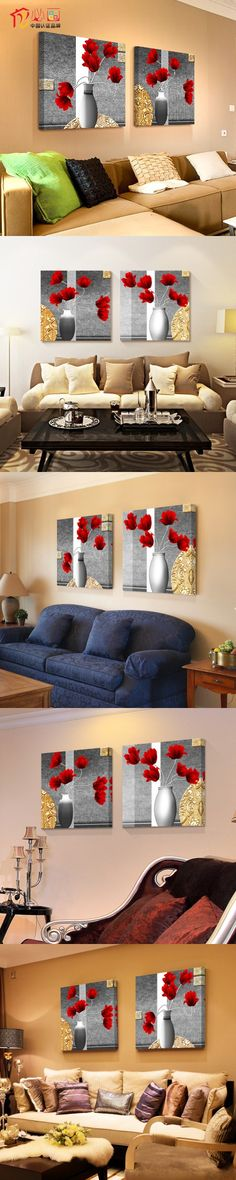 Pictures Modern Minimalist Living Pictures On The Wall Frameless Painting Home Decor Mural Painting Wall Art Posters And Prints $46.92