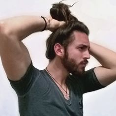Hold onto your buns! Just made it to 2000 followers. Thank you  #manbunnation