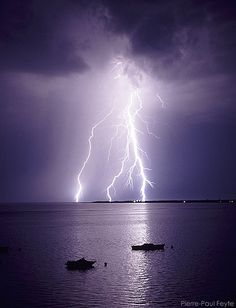 A Storm passes on the Bassin d'Arcachon by Pierre-Paul Feyte, via Flickr