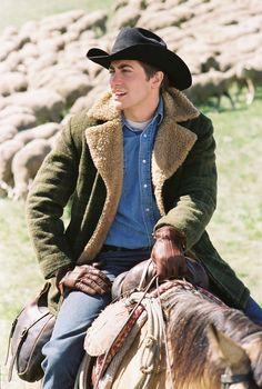 Jake Gyllenhaal in Brokeback Mountain  so young