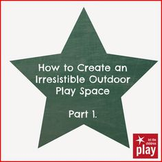 let the children play: How to Create a Natural Outdoor Play Space., - let the children play: How to Create a Natural Outdoor Play Space. Kids Play Spaces, Outdoor Play Spaces, Kids Outdoor Play, Backyard Play, Outdoor Learning, Outdoor Fun, Backyard Ideas, Modern Playground, Indoor Playground