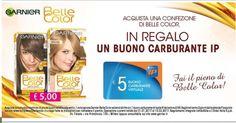 Garnier Belle Color ti regala la benzina – Missione risparmio Bergamo