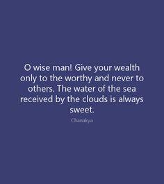 - Chanakya Quotes
