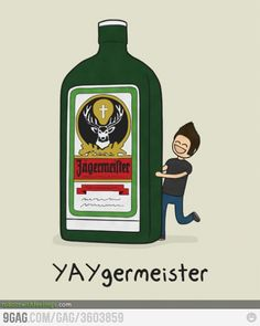 Jagermeister........ wait what? Drunk Humor, Nurse Humor, Bartender Quotes, Stupid Images, Happy Birthday Meme, Humor Birthday, Party Scene, Thirsty Thursday, Nurse Quotes