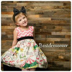 Toddler party dress  Baby Circus Dress  Toddler by BestDressEver