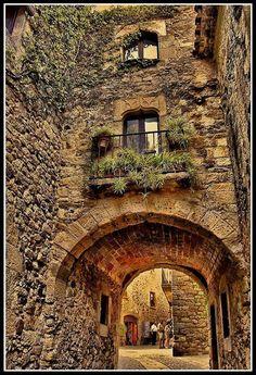Catalonia, Spain...........more arches.......