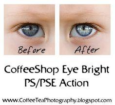 Photoshop Eye Action