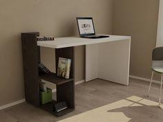 escritorio moderno mesa pc notebook - mueble de oficina