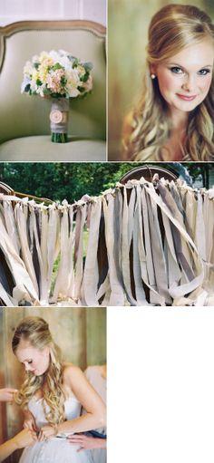 fabric garland...........Blackberry Farm Wedding by Tec Petaja | The Wedding Story