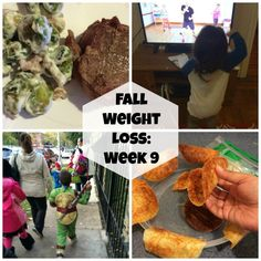 First Time Mom and Losing It: Fall Weight Loss: Week 9