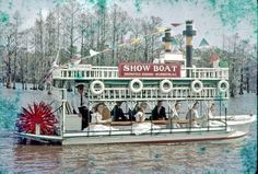 The Greenfield Gardens Show Boat for the 1960 North Carolina Azalea Festival (photo courtesy of the North Carolina Azalea Festival)