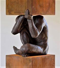 Philippe Timmermans (*1957) Bronze Sculpture, Sculpture Art, Posters Conception Graphique, Anatomy Sculpture, African Sculptures, Contemporary Sculpture, Graphic Design Posters, Horror Art, Box Art