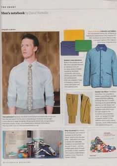 Marwood featured in The Telegraph Magazine