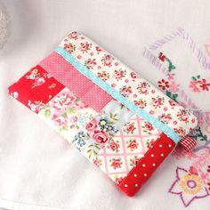 Make-up bag - Pencil Case - 'Rose Garden' - Cath Kidston fabric - FREE UK P&P £9.95