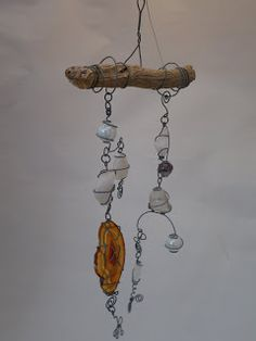 Woodwose Carving: Stone, Wire & Drift Wood.