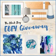 To celebrate the EOFY, The Block Shop has teamed up with some amazing retailers to bring you our biggest ever prize, valued at over $2,000!  The prize includes artwork, lighting and decor from: Black Mango, Brosa, Elevate Design, Maggi McDonald, Some Artists, Tusk Gallery and United Interiors.  To enter all you have to do is enter your email address below...it's that easy!